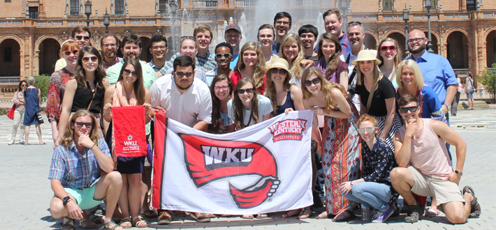 The WKU Chorale, conducted by Dr. Paul Hondorp, is touring Spain & performing at various venues across the country.