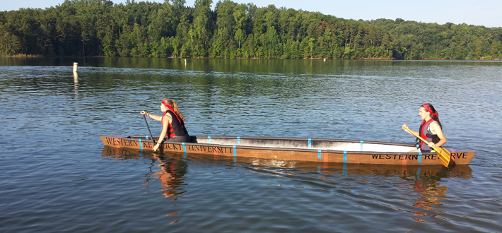 WKU civil engineering students finished 17th overall in the 2015 American Society of Civil Engineers' National Concrete Canoe Competition, held June 20-22 at Clemson University. Read more on WKU News at http://wp.me/pi4mf-8KN