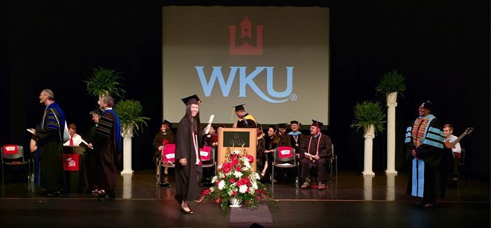 The WKU Elizabethtown-Fort Knox commencement was held at the Hardin County Schools Performing Arts Center on Monday, May 18.