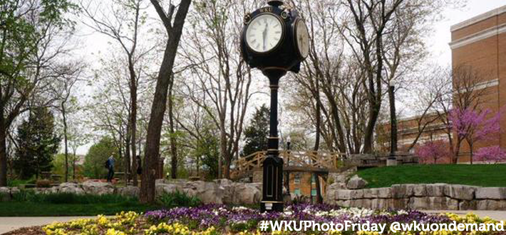 #WKUPhotoFriday @wkuondemand photo of clock