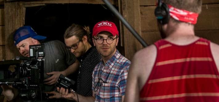 "WKU Professor Travis Newton directs a short film, ""Woodshed."" The project features many WKU faculty, students, and alumni. Read more on WKU News."