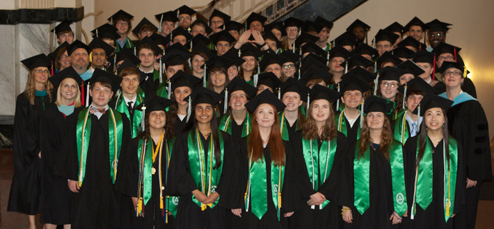 61 students graduated at the 8th graduation ceremony of the Gatton Academy May 16th. Congratulations graduates!