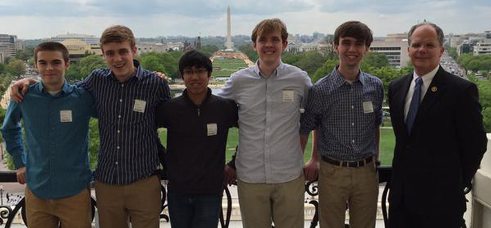 The Gatton Academy's Science Bowl Team spent time at the Capitol this week as part of the National Science Bowl.