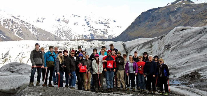 WKU faculty and students are studying climate change in Iceland this summer. Click the image to read their blog.