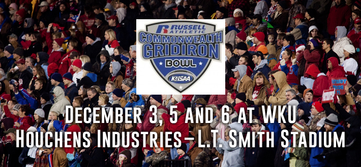 December 3, 5 and 6 at WKU Houchens Industries–L.T. Smith Stadium