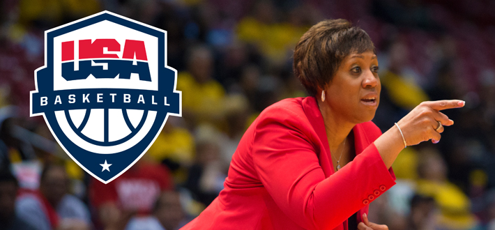 Michelle Clark-Heard is set to represent the red, white and blue this summer as she has named an assistant coach for the 2015 U.S. Pan American Women's Basketball Team, fulfilling a goal of Clark-Heard's to work with USA Basketball.