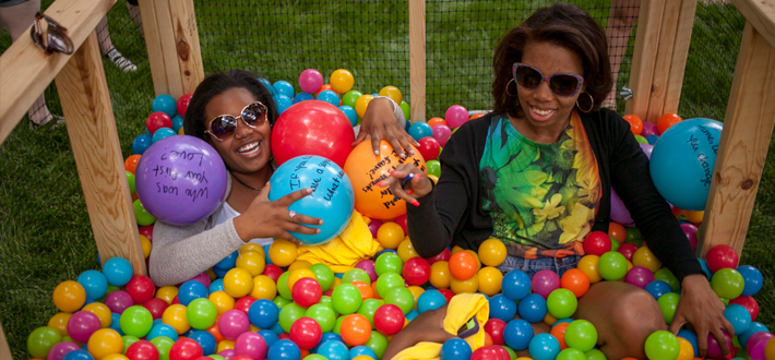 Students participated in Housing & Residence Life's annual Valleypalooza on May 5.