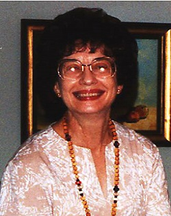 Dr. Nancy Davis, In Memoriam 1934 - 2008