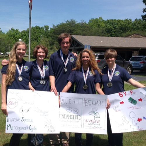 Gatton Academy Team 2nd in State Envirothon Competition