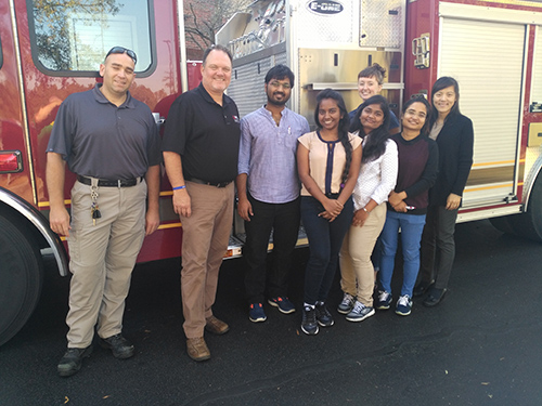 EOHS Faculty and Students Conduct Firefighter Research Survey in Owensboro, Kentucky
