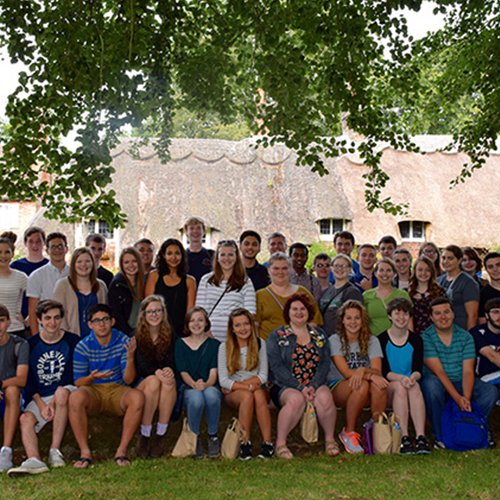 48 Gatton Academy Students Return from 3-Week Study Abroad Program in England