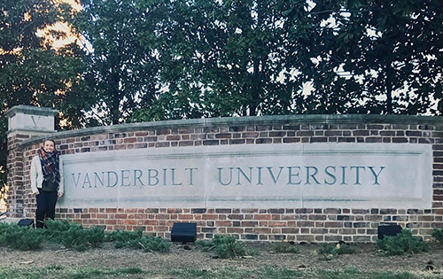 Western Kentucky University Graduate Research Assistant Awarded Doctoral Student Assistantship from Vanderbilt University