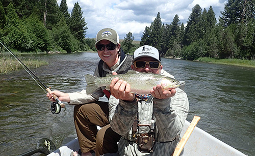 Cabela's, WKU Student & WKU School of KRS Support High School Fly-Fishing Course in Montana