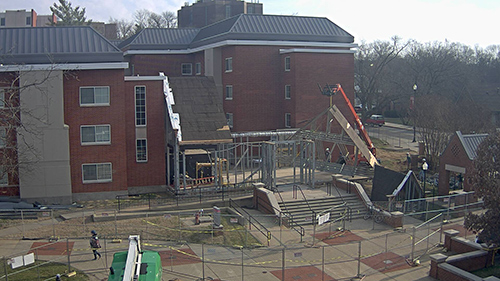 Construction webcams available to view construction