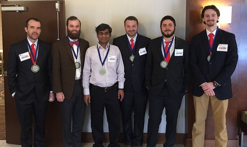 Geography and Geology's Imperial Barrel Team Earns 1st in Regionals