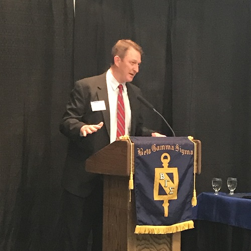 Beta Gamma Sigma Honor Society Inducts 45