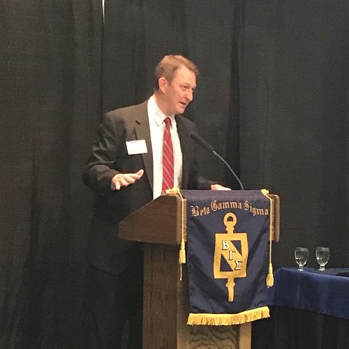 Beta Gamma Sigma Honor Society Inducts 45