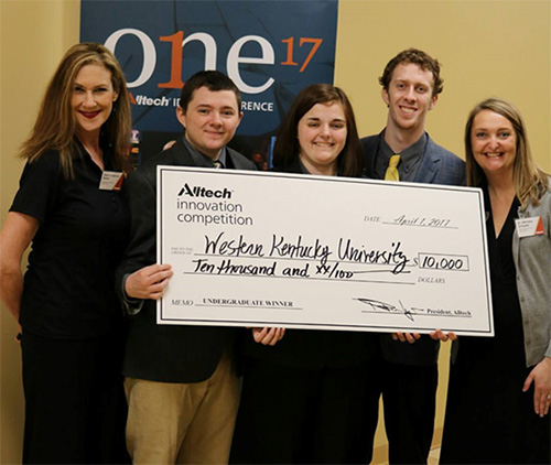 CSD Undergraduate Student and Team Members Win $10,000 Innovation Competition