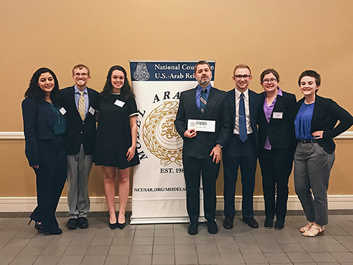 WKU's Model Arab League team participates in national event