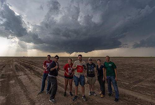 WKU Storm Chase students prepare for annual trip with new SpiritFunder campaign
