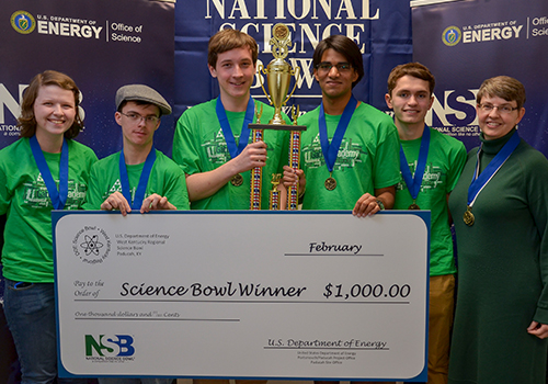 The Gatton Academy Advances to 2017 National Science Bowl