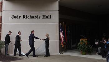 WKU dedicates Jody Richards Hall