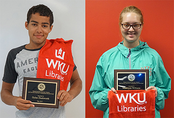 WKU students receive Undergraduate Library Research Awards