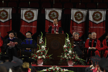 Graduate ceremony begins WKU's 181st Commencement