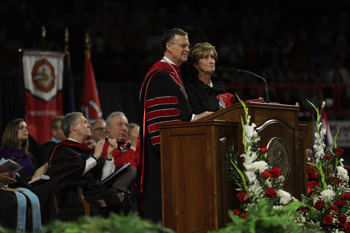WKU Commencement: President Ransdell reflects on 'amazing 20 years'