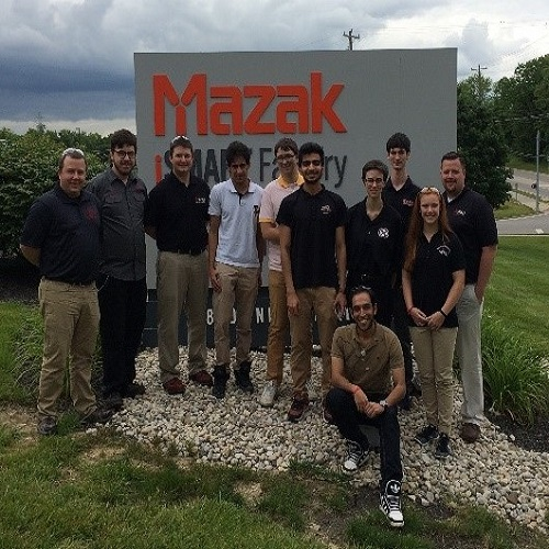 Mechanical Engineering Students Tour KY Facilities
