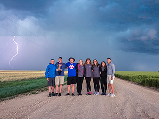With Spirit Funder support, WKU Storm Chasers documented multiple tornadoes