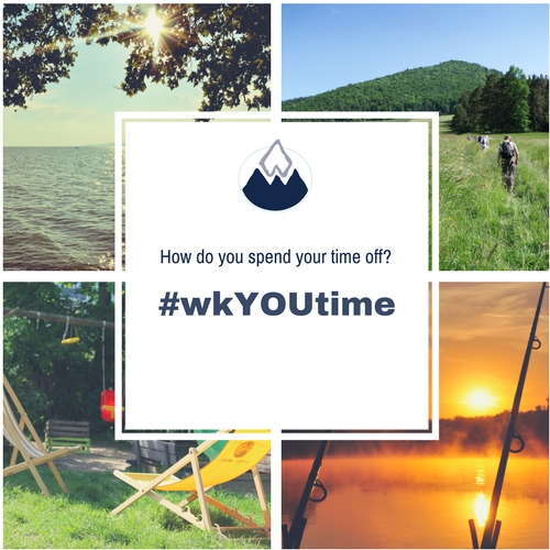 How do you spend your #wkYOUtime?