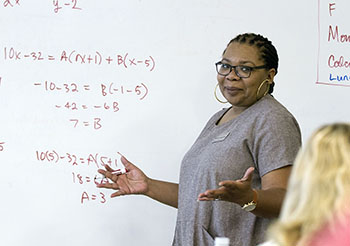 The Center for Gifted Studies hosts Advanced Placement Summer Institute