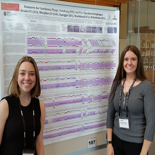 WKU Honors College students present research results at Howard Hughes Medical Institute Symposium