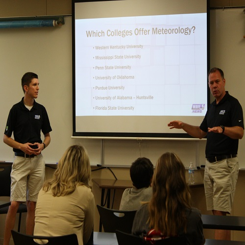 WKU METEOROLOGY PROGRAM HOSTS 5TH ANNUAL YOUTH WEATHER CAMP