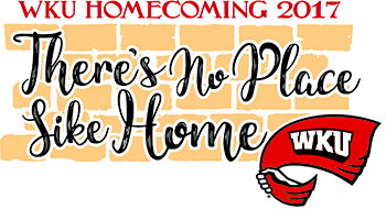 'There's No Place Like Home' theme for WKU Homecoming 2017