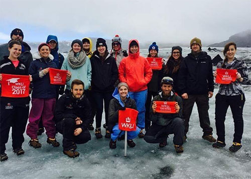 WKU Students Study Climate Change in Iceland