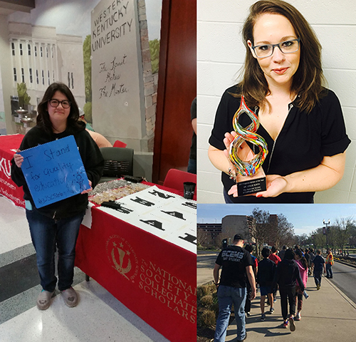 WKU's National Society of Collegiate Scholars student chapter, faculty advisor honored