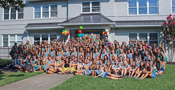 Kappa Delta Sorority to formally receive national honor Sept. 23