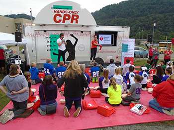 Hands-Only CPR Mobile Tour to visit WKU on Sept. 25