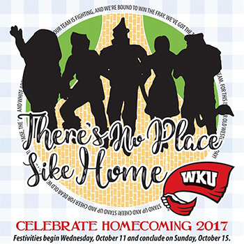 WKU to celebrate Homecoming 2017 Oct. 11-15