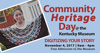 Kentucky Folklife Program to host 'Community Heritage Day' Nov. 4