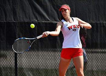 Greek student becomes winningest Lady Topper in WKU Tennis history