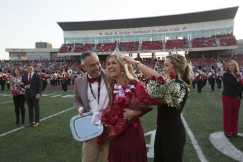 Katherine Crider crowned WKU Homecoming queen