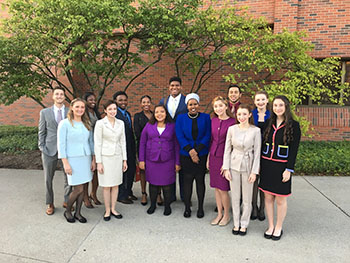 WKU Forensics Team competes in tournaments at Ball State