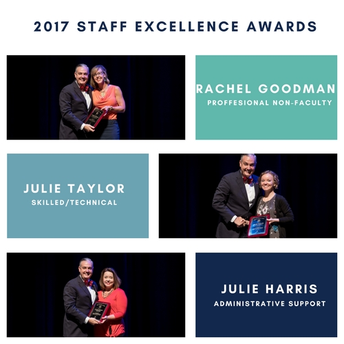 2017 Staff Excellence Awards