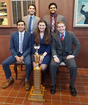 WKU Forensics Team wins in West Virginia
