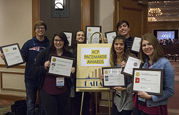 Herald, Talisman win three Pacemakers, additional awards