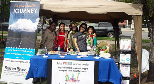 Public Health Students Provide Health Education and Services at Inaugural Bowling Green Pride