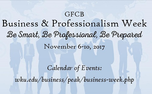 GFCB Hosts Business and Professionalism Week